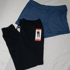 32 Degrees Jogger and Shorts Set Size Medium